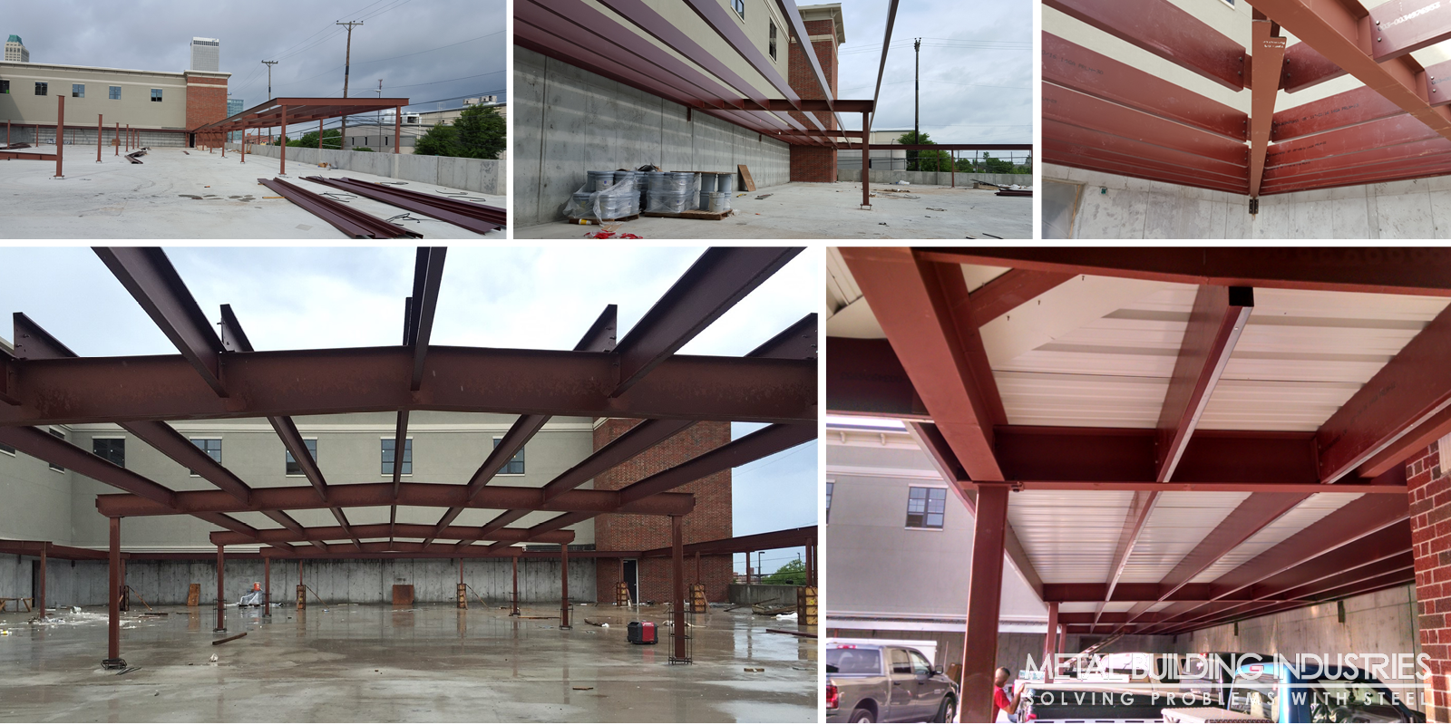 The Edge Carports structural steel and metal building hybrid Tulsa OK